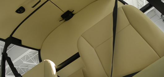 INTERIOR KITS FOR ROBINSON R44 AIRCRAFT