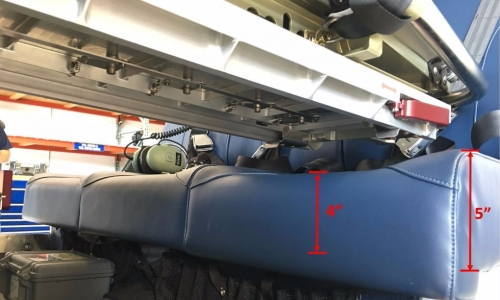 RAMM Aerospace Frameless Fwd facing with dims