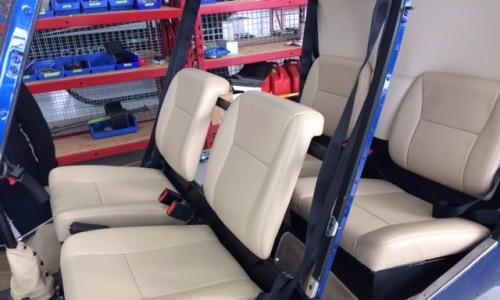 RAMM Aerospace R44 seats (2)